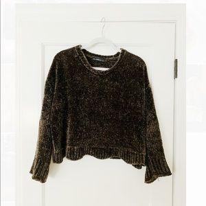 Zara Chenille Chunky Sweater